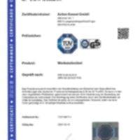 ANKE - Certification agencement atelier