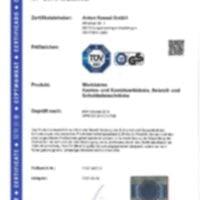 ANKE Certification Etablis à caisson suspendus coffres armoires à tiroir