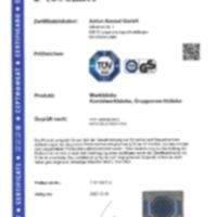 ANKE - Certification Etablis coffre groupes