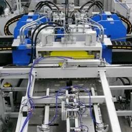 Métallerie - Poinçonneuse/Plieuse automatisée (Dalcos)