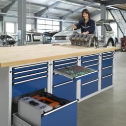 ANKE - Qualité et fonctionnalité des mobiliers d'atelier