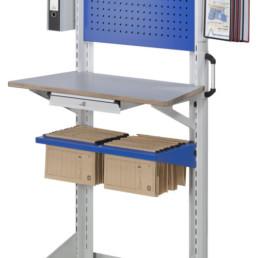 Poste de travail ergonomique - Dossiers suspendus