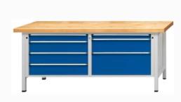 Etablis professionnels série VX à larges tiroirs de rangement XL