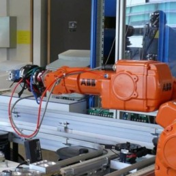 Bras robotique industrielle