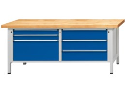 Etabli à coffre tiroirs XL série VX
