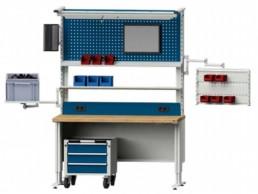 Table de travail ergonomique série LIFT