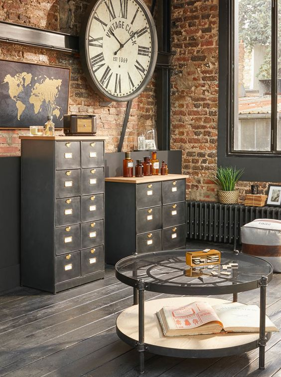 commode-style-industriel-pas-cher